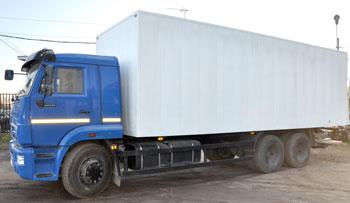 Камаз с 9 метровым фургоном